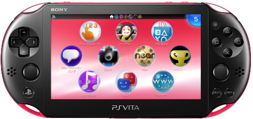 Playstation Vita Wi-Fi Pink-Black Pch-2000Za15(Japan Import)
