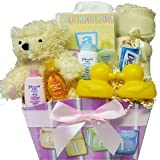 It's A Girl! or It's A Boy! Baby Gift Basket