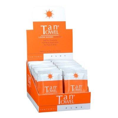 Serviette Tan - Half Body Plus 50 pack