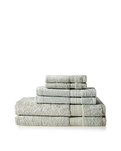 Espalma Luxe Palace Luxury 6-Piece Towel Set, Sage