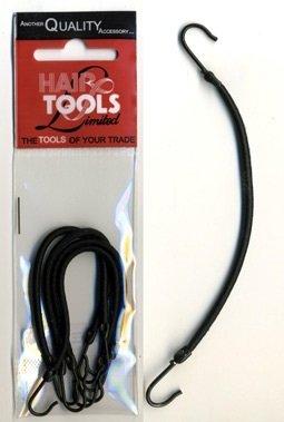 Hair Tools Hair Bunjee Hooks Ties Black
