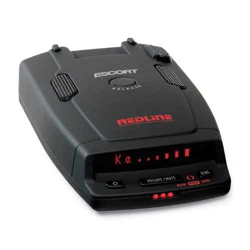 Escort RedLine Ultimate Performance Dual-Antenna Radar Detector (Black)