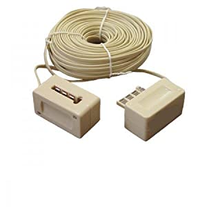rallonge telephonique extension cable telephone 25 m. Black Bedroom Furniture Sets. Home Design Ideas