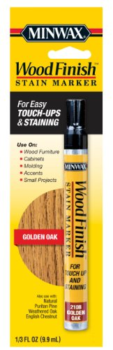 Minwax 63481 Wood Finish Stain Marker Interior Wood, Golden Oak