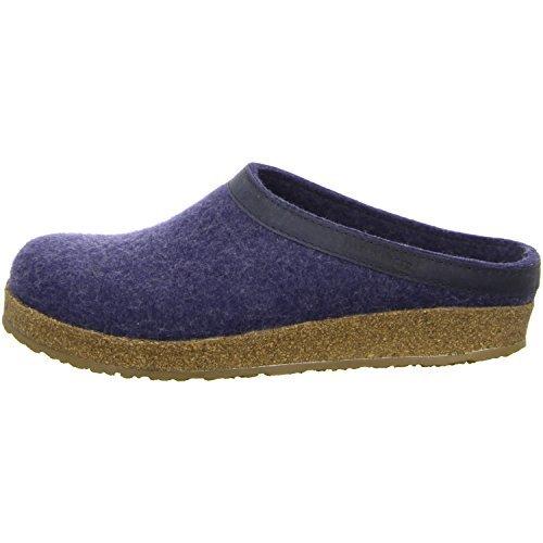 Haflinger Torben 713001-2, Pantofole unisex adulto, Azul, 39