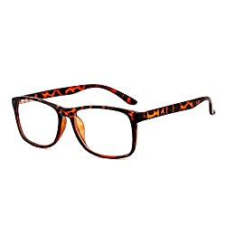 Royal Son Full Rim Rectangular Unisex Spectacle Frame ( RS05410ER | 52 | Transparent )