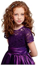 KID Collection Girls Purple Flower Girl Holiday Dress Size 2