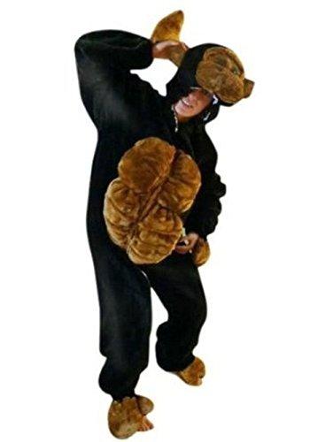[Fantasy World Adults Gorilla Costume 12-14 / L F17] (Baby Gorilla Costumes)