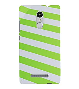 PrintVisa Stripes Pattern 3D Hard Polycarbonate Designer Back Case Cover for Xiaomi Redmi Note 3