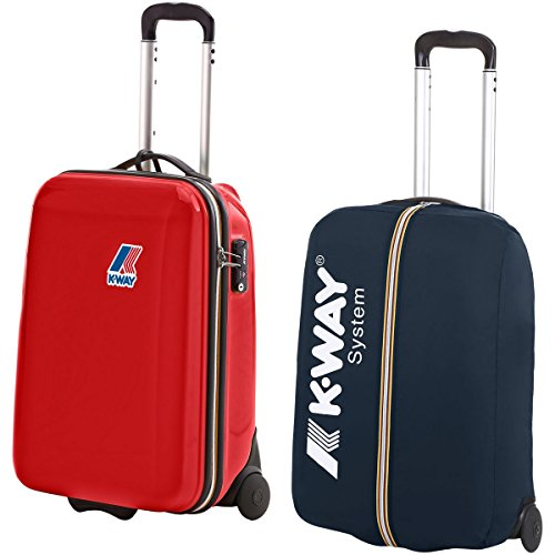 Borsa - K-way System Mini Trolley - Red-Navy - S