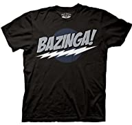 Big Bang Theory Black Bazinga! Men's…