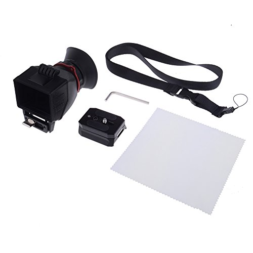 Neewer® NeeView-M 2.5X Magnification LCD Screen Viewfinder for Mirrorless Video Camera, Such as Sony A7 A7R A7S, Panasonic GH2 GH3 GH4, Canon 650D(T4i)