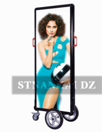 Stnanhai Best Quality,Indoor/Outdoor Led Banner Display,Walking Outdoor Battery Operated For Valentine'S Day Promotion
