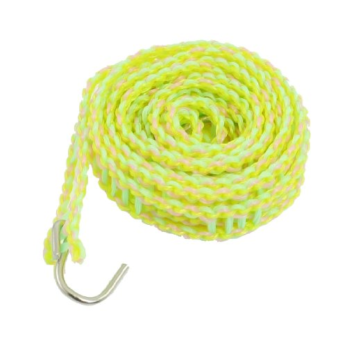 2 Meter Green Pink Yellow Plastic Fence Style Household Clothes Hanging Line front-979218