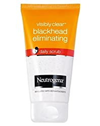 Neutrogena Visibly Clear Blackhead Eliminating Daily Scrub 150 ml With Ayur Lotion 50 ml