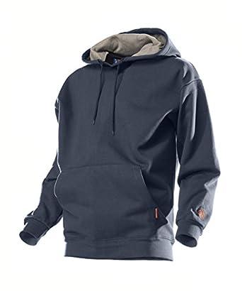 Benchmark Flame Resistant American Pull Hooded Sweatshirt, Navy