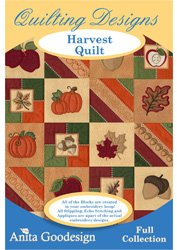 Anita Goodesign Harvest Quilt Embroidery Designs from Anita Goodesign