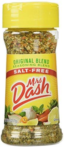 Mrs. Dash Original Blend Salt Free Seasoning Blend (224083) 2.5 oz