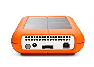 LaCie Rugged XL 1 TB USB 2.0 Desktop External Hard Drive 301848U
