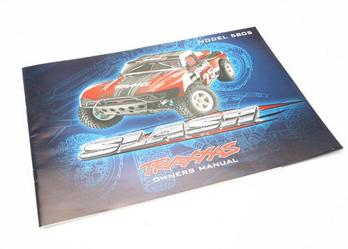 Traxxas 5899 Owners Manual Slash