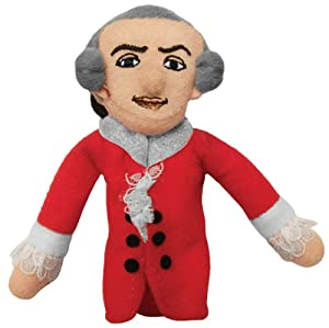 W. A. Mozart Magnetic Finger Puppet by The Unemployed Philosophers Guild