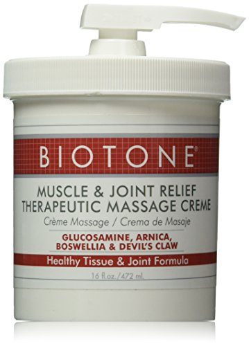 Biotone Muscle and Joint Relief Therapeutic Products Massage Creme, 16 Ounce (Devils Claw Gel compare prices)