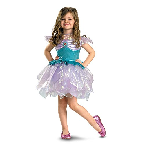 Costumes For All Occasions Dg50508M Ariel Ballerina Toddler 3T-4T