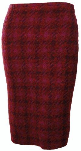 Sutton Studio Women's Wool Blend Plaid Pencil Skirt (X-Large) [Apparel] Image