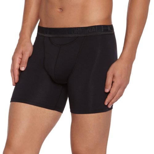 HOM Herren Lange Unterhose 10080260 HO1 Original New HO1 Long, Gr. 8 (XXL), Schwarz (BLACK COMBINATION M014)