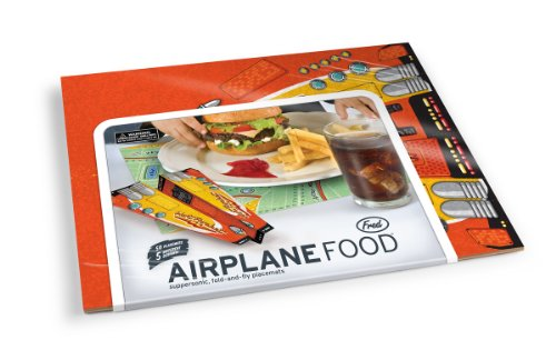 Tisch-Sets aus Papier AIRPLANE FOOD - 50er Set