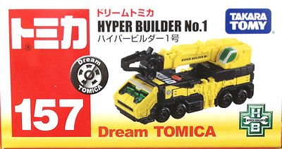 Tomy Tomica No:157 Dream Tomica Hyper Builder No.1 New 2013 - 1