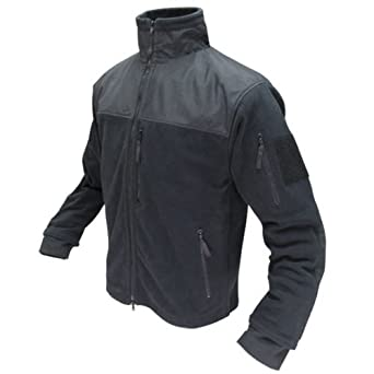 Condor Alpha Tactical Fleece Jacket (Small, Black)