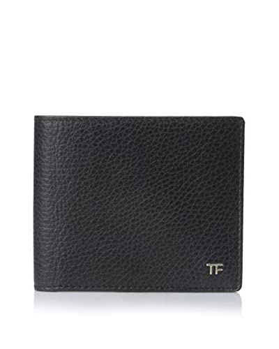 Tom Ford Men's Eight Slot Bifold Wallet, Black