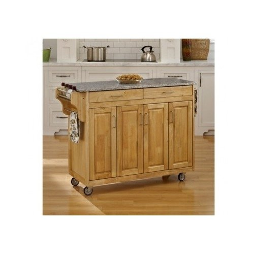Kitchen Island Cart Granite Top Movable