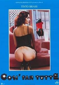 Amazon.com: All Women do it Poster Movie Italian 11x17 Claudia Koll