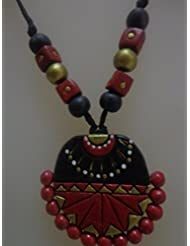 Terracotta Jewellery-Terracotta Necklace