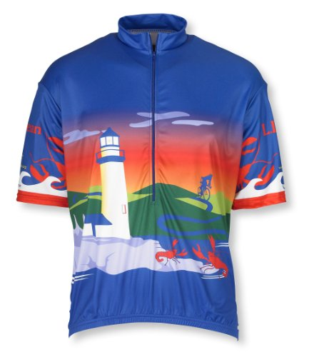 Buy Low Price L.L.Bean Maine Cycling Jersey (B002N2W18C)