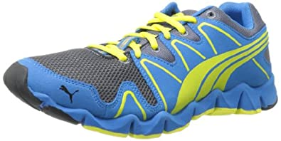 PUMA Men's Shintai Runner MP Running Shoe,Grisaille,7 D US