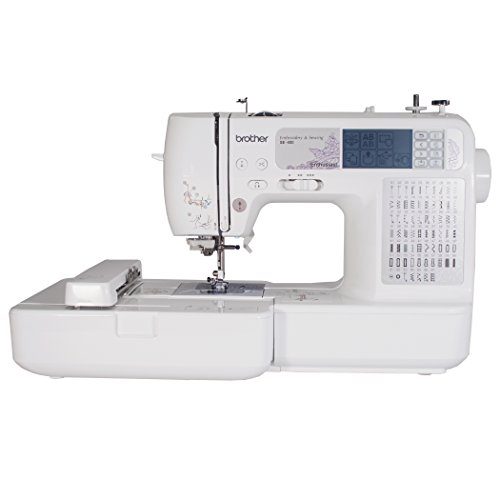 Brother SE400 Combination Computerized Sewing and 4x4 Embroidery Machine With 67 Built-in Stitches, 70 Built-in Designs, 5 Lettering Fonts (Monogramming And Sewing Machine compare prices)