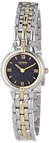 Citizen Womens EW9334-52E Eco-Drive Silhouette Two-Tone Watch