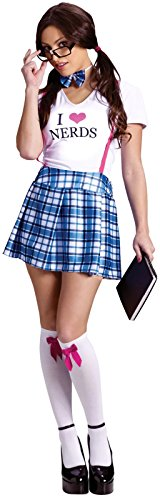 I Love Nerds Adult Costume Size:Small/Medium