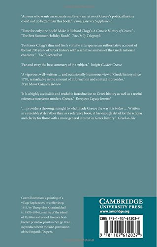 A Concise History of Greece (Cambridge Concise Histories)