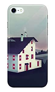 Dreambolic castle-in-the-mountains Back Cover for Apple iPhone 7