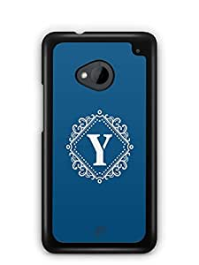 YuBingo Monogram with Beautifully Written letter Y Mobile Case Back Cover for HTC One M7