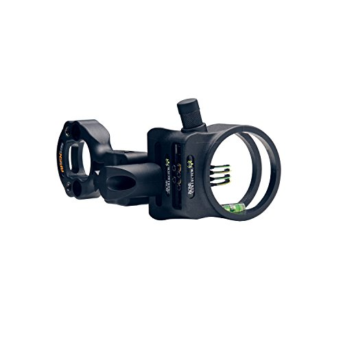 Apex Gear Tundra 4-Pin Sight .019″ W/Light Bone Collector Black
