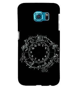 PRINTSWAG ZODIAC Designer Back Cover Case for SAMSUNG GALAXY S6 EDGE