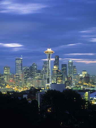 Seattle Skyline from Queen Anne Hill