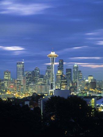 Seattle Skyline from Queen Anne Hill