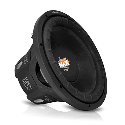 Lanzar MAXP84 Max Pro 8-Inch 800 Watt Small Enclosure 4 Ohm Subwoofer
