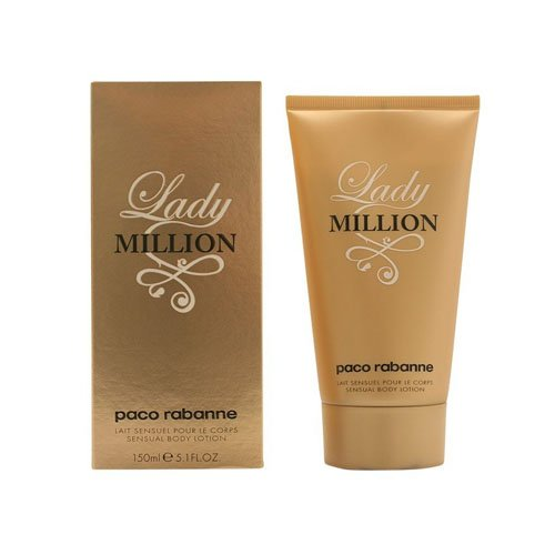 Paco Rabanne Lady Million Lozione Corpo, Donna, 150 ml